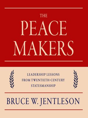 cover image of The Peacemakers
